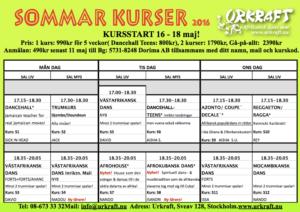 SommarDansKurser_Urkraft_2016